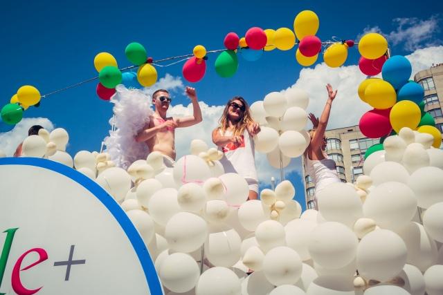 Google+ at Pride