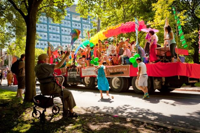 Toronto Pride Parade 2013 - Old Man