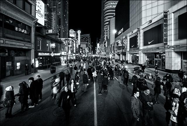 Nuit Blanche 2011. by Sam Javanrouh